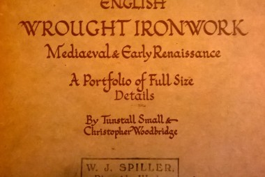 English-Wrought-Ironworks-Mediaeval & Early Renaissance - By Tunstall Small & Christopher Woodbrige-